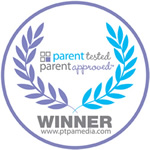 "Sello de aprobación de ganador de ""Parent Tested, Parent Approved"" de 2012 2012"